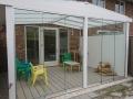 Exclusieve tuinkamer met glazen schuifwanden van Veranda Plaza (10)