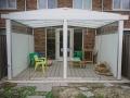 Exclusieve tuinkamer met glazen schuifwanden van Veranda Plaza 13
