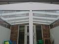 Exclusieve tuinkamer met glazen schuifwanden van Veranda Plaza 15