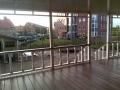 Veranda, Veranda Plaza, terrasoverkapping, overkapping, buitenkamer, tuinkamer, houtkachel, lichtstraat, Glazen schuifwanden, daklicht, balustrade, terrasverwarming, tuin, terras carport, terras, vlonder