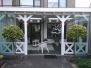 Exclusieve Veranda van Veranda Plaza met glazen schuifwanden in Westzaan