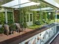 11 Exclusieve Veranda van Veranda Plaza met glazen schuifwand