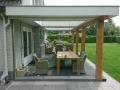 6 Exclusieve Veranda van Veranda Plaza met glazen schuifwand