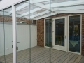 Exclusieve tuinkamer met glazen schuifwanden van Veranda Plaza (3)