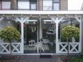 Exclusieve veranda met glazen schuifwanden van Veranda Plaza