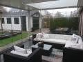 Exclusieve veranda met glazen schuifwanden van Veranda Plaza (9)