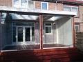 Veranda met Glazen Schuifwand van Veranda Plaza