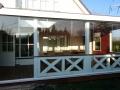 Veranda van Veranda Plaza met glazen schuifwand dicht